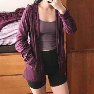 Lululemon Purple In Flux Reversible Jacket